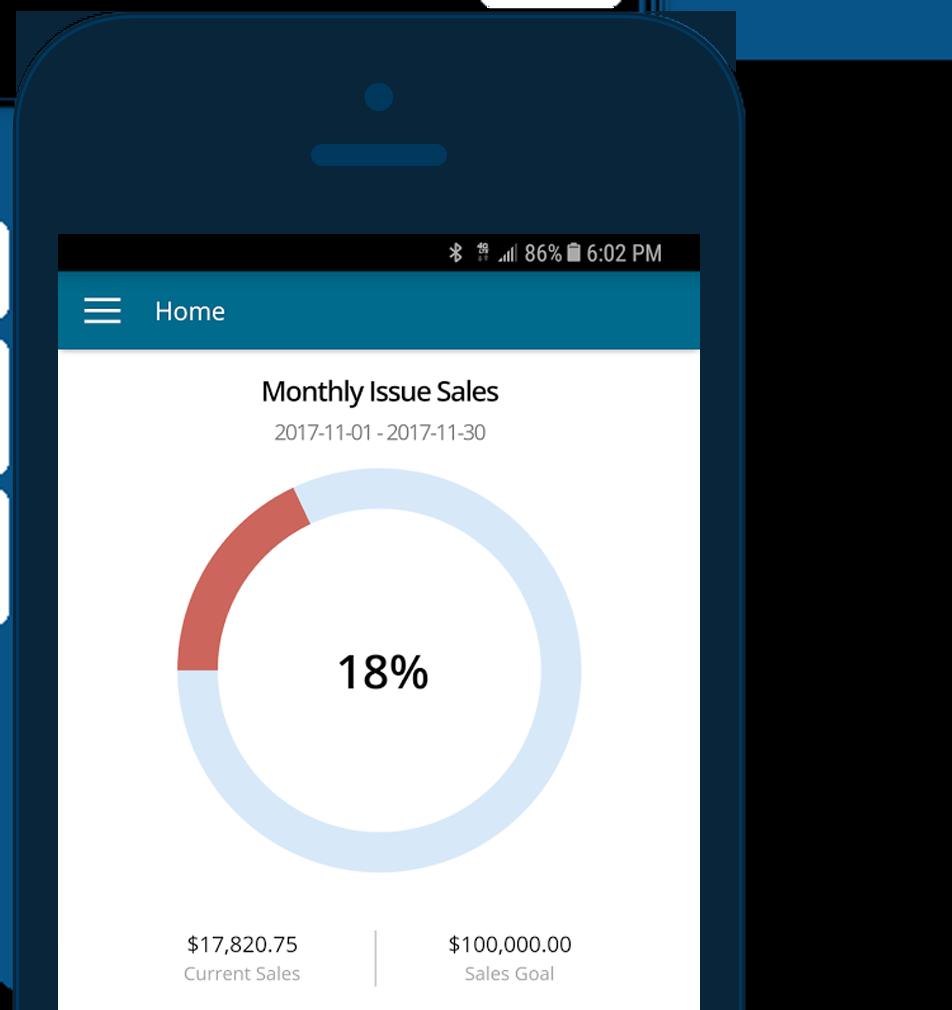 Screen Grab: Mobile App