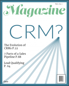 Magazine Cover with CRM?