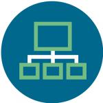 Magazine CRM Organization Symbol