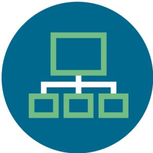 CRM helps with organization symbol