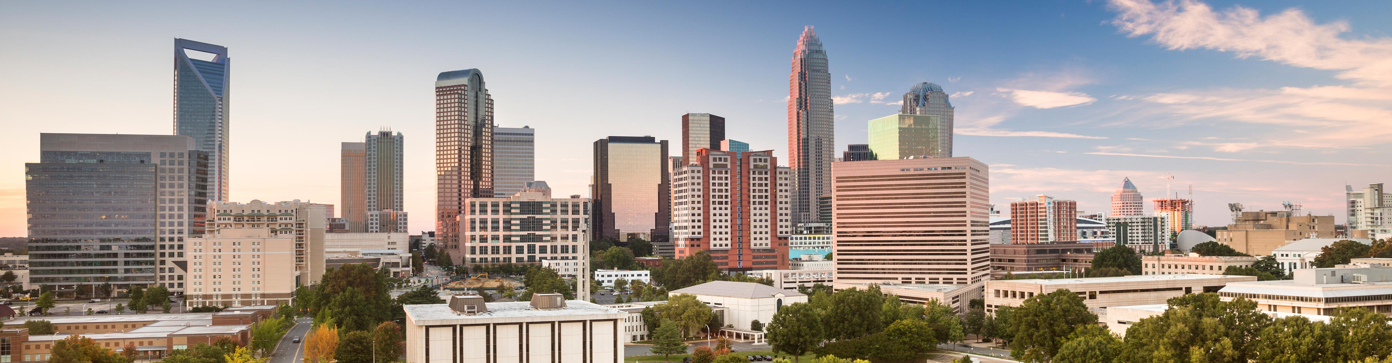 Image of Charlotte, North Carolina's Skyline