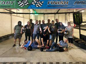 Aysling Karting Group Photo