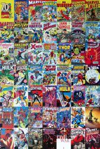 Comic Book Lineup