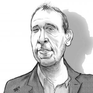 Zach Gilbert Caricature