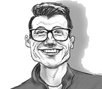Travis Spuller Caricature