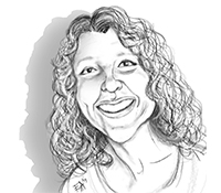 Jennifer Ostman Caricature