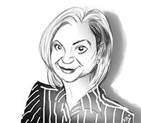 Karen Richter Caricature