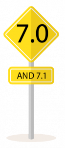 7.0 and 7.1 Roadsign