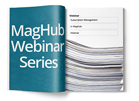 Subscription Management In MagHub