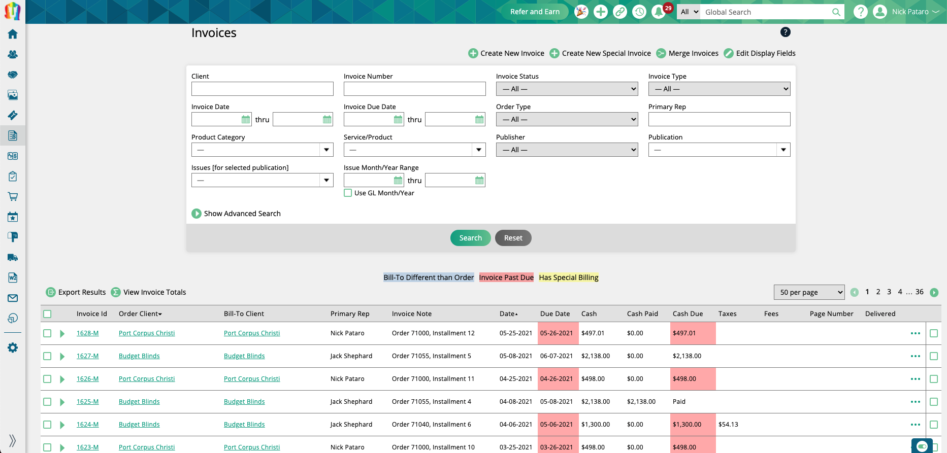 MagHub Invoice Management
